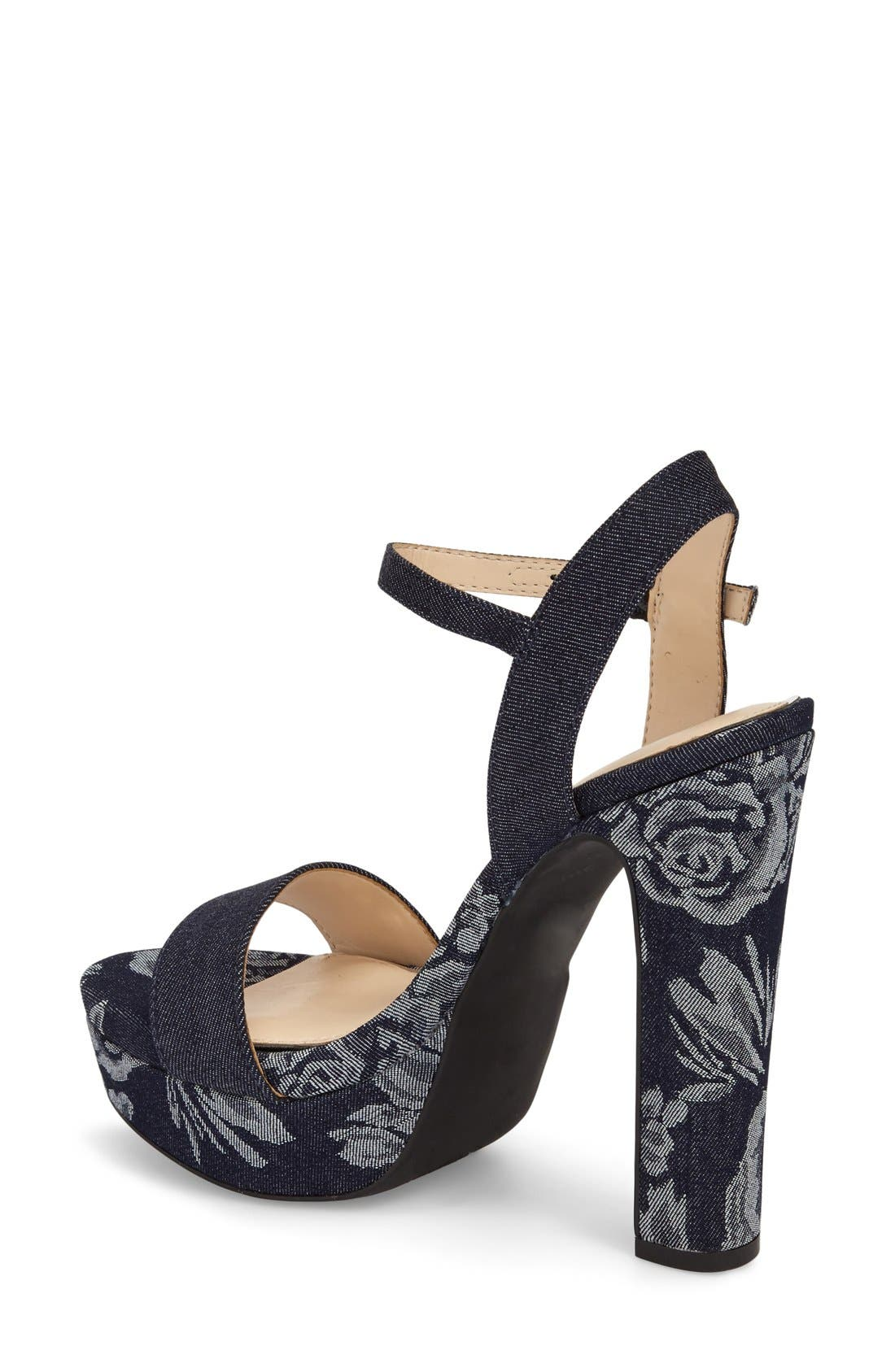 Alternate Image 2  - Jessica Simpson 'Blaney' Platform Sandal (Women)