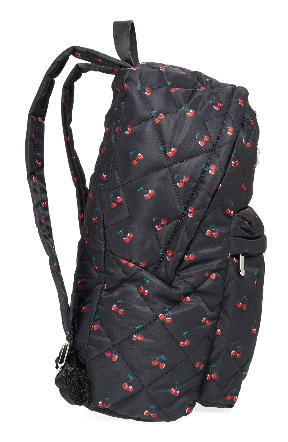 Alternate Image 5  - MARC BY MARC JACOBS 'Crosby' Quilted Fruit Print Backpack