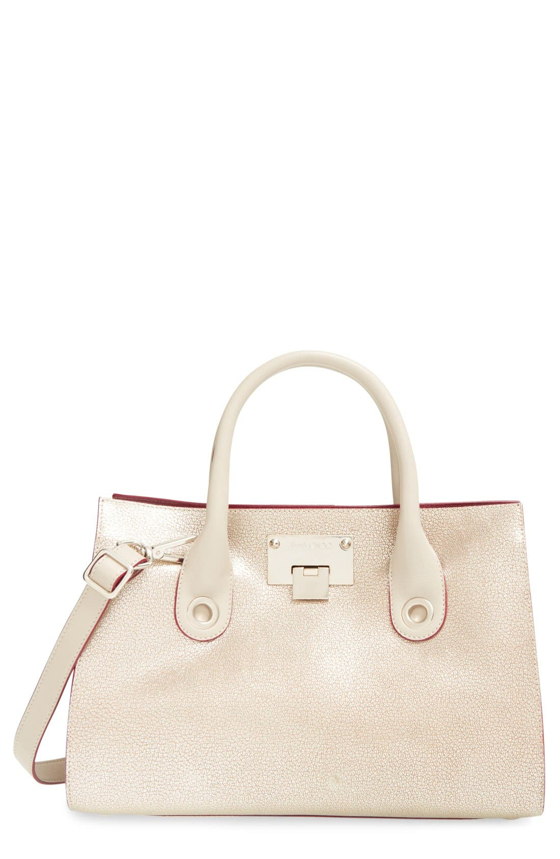 JIMMY CHOO 'Medium Riley' Leather Tote