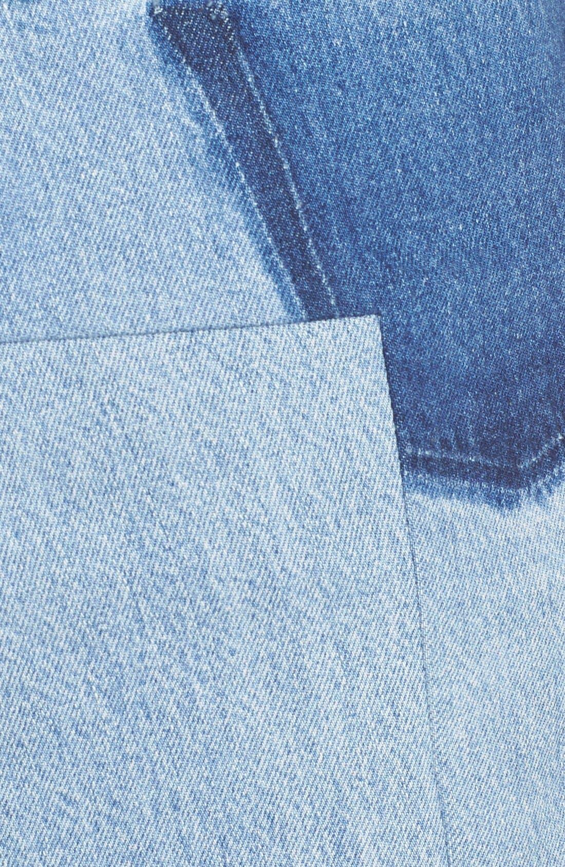 Alternate Image 3  - Vetements Denim Mini Skirt