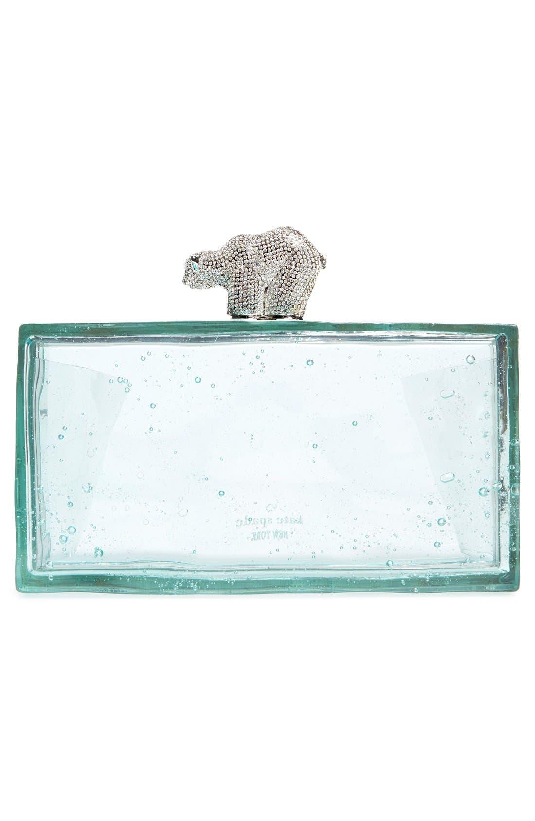 Alternate Image 3  - kate spade new york 'polar bear on ice' clutch