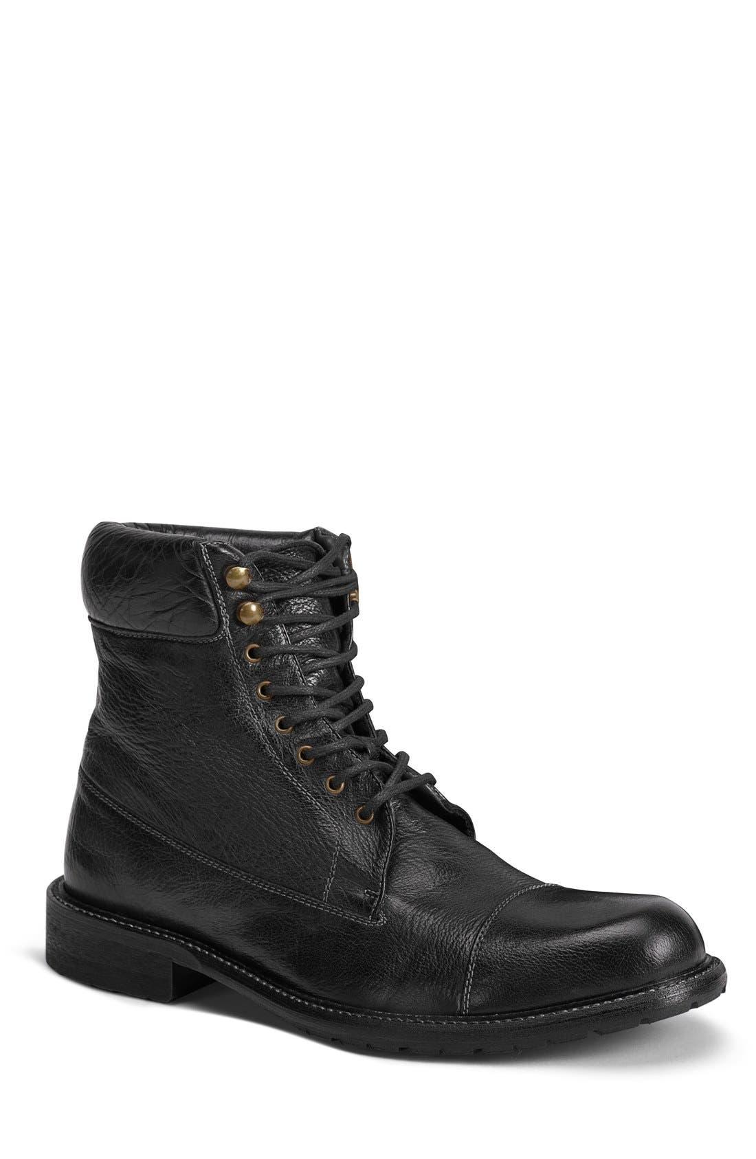 TRASK 'Ronan' Cap Toe Boot