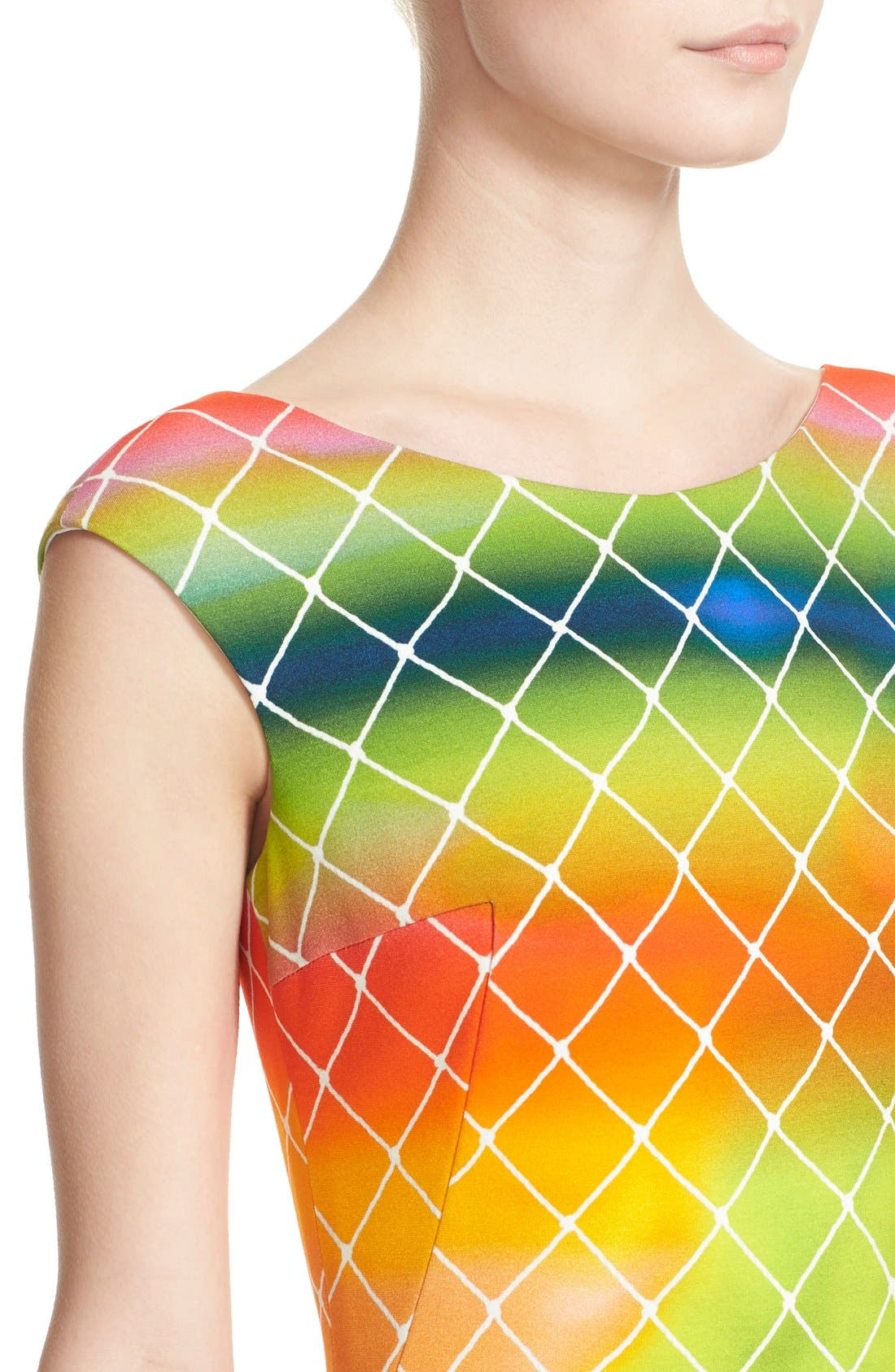 Alternate Image 5  - Akris punto 'Baseball Net' Dress