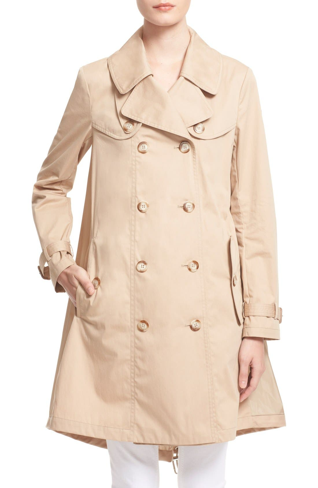 Alternate Image 6  - Moncler 'Bavarelle' Water Resistant Trench Coat