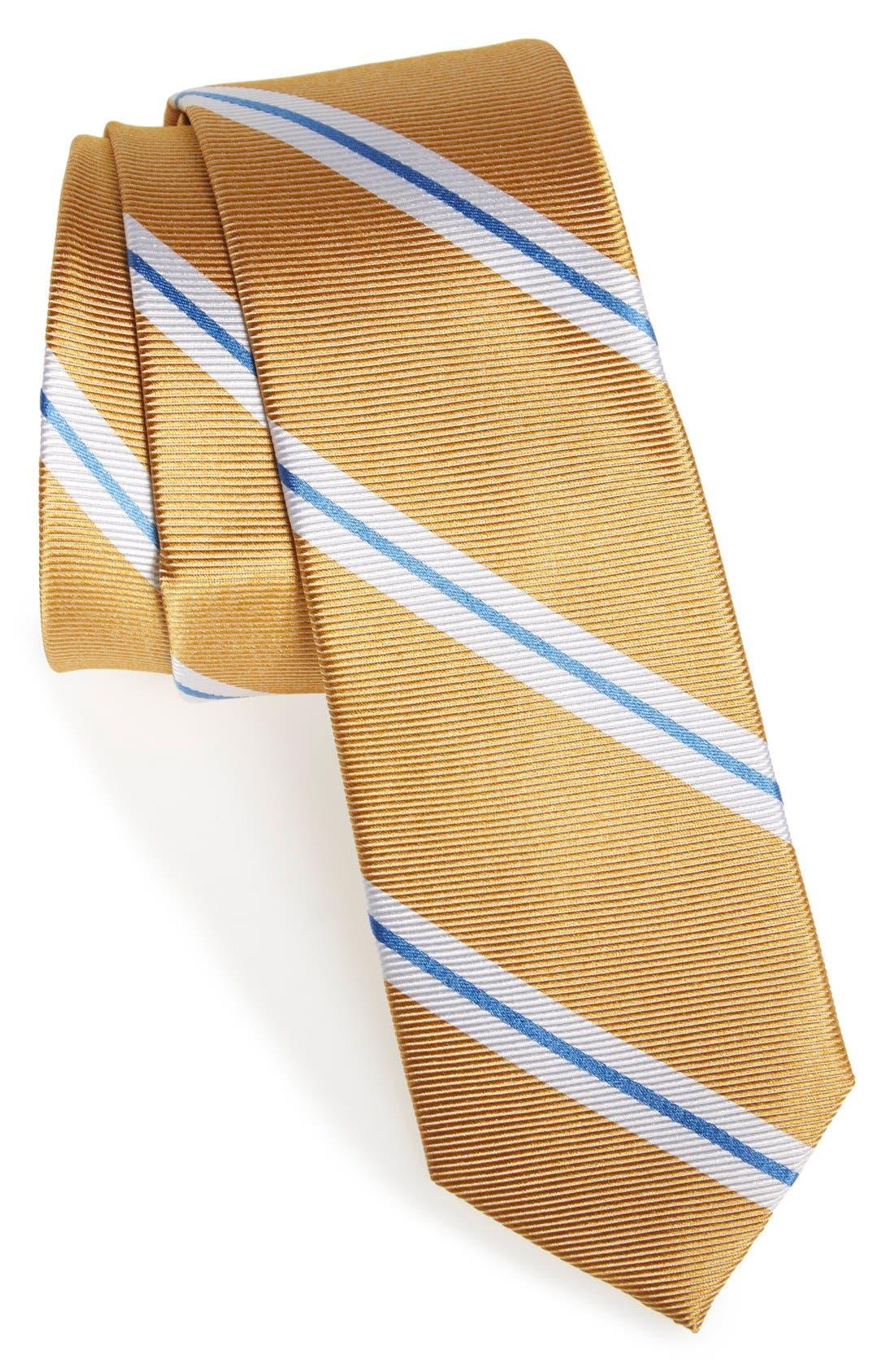 Alternate Image 1 Selected - 1901 'Brolin' Stripe Silk Tie