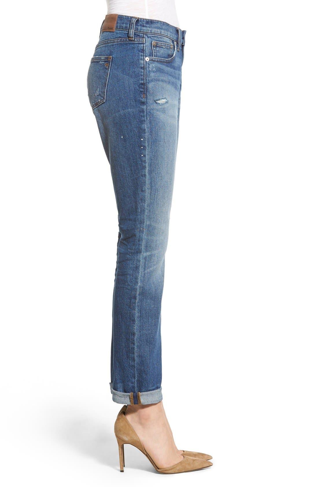 Alternate Image 3  - Madewell Slim Boy Jeans (Hatfield)