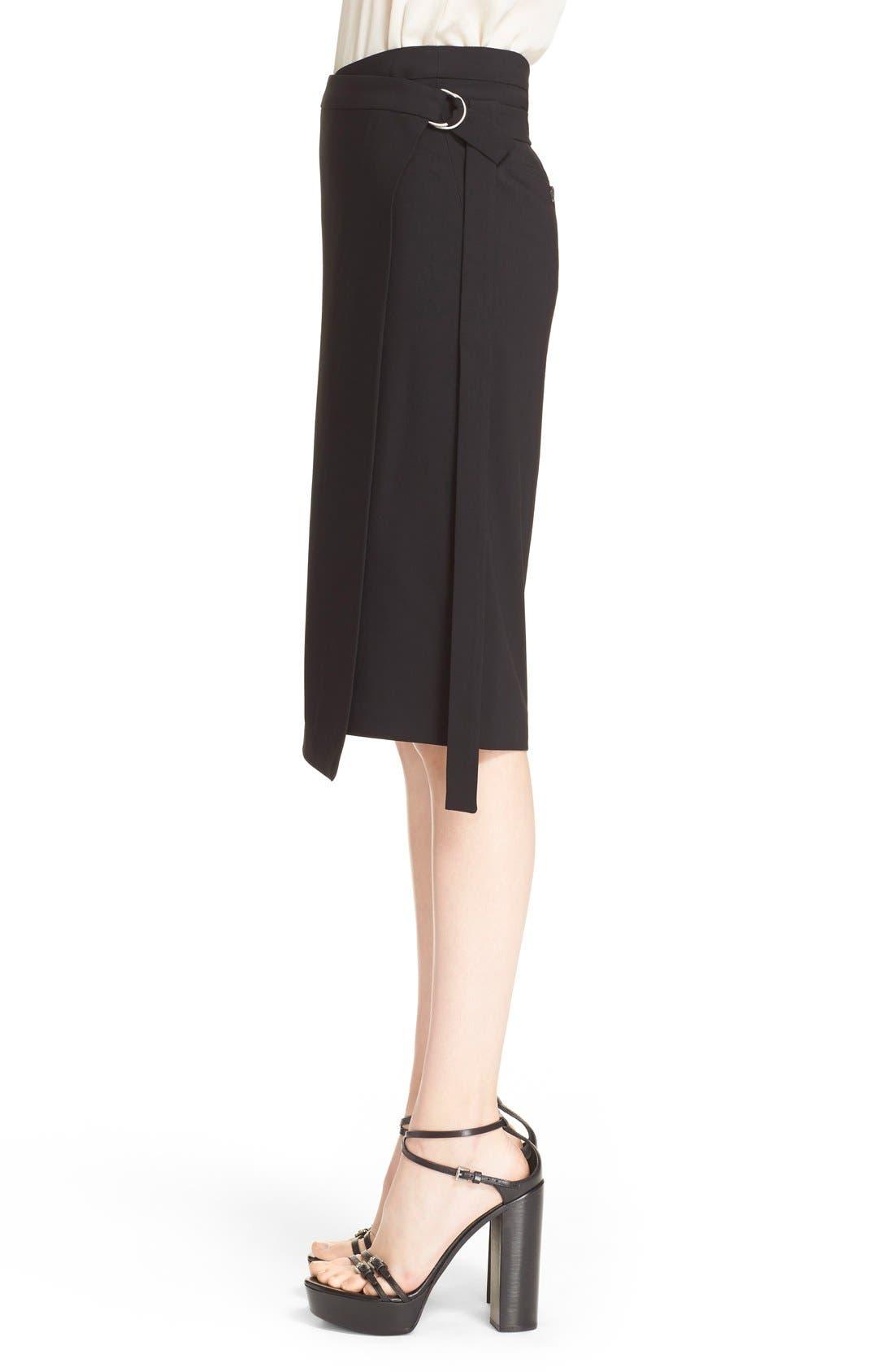 Alternate Image 5  - Michael Kors Belted Wool Wrap Skirt