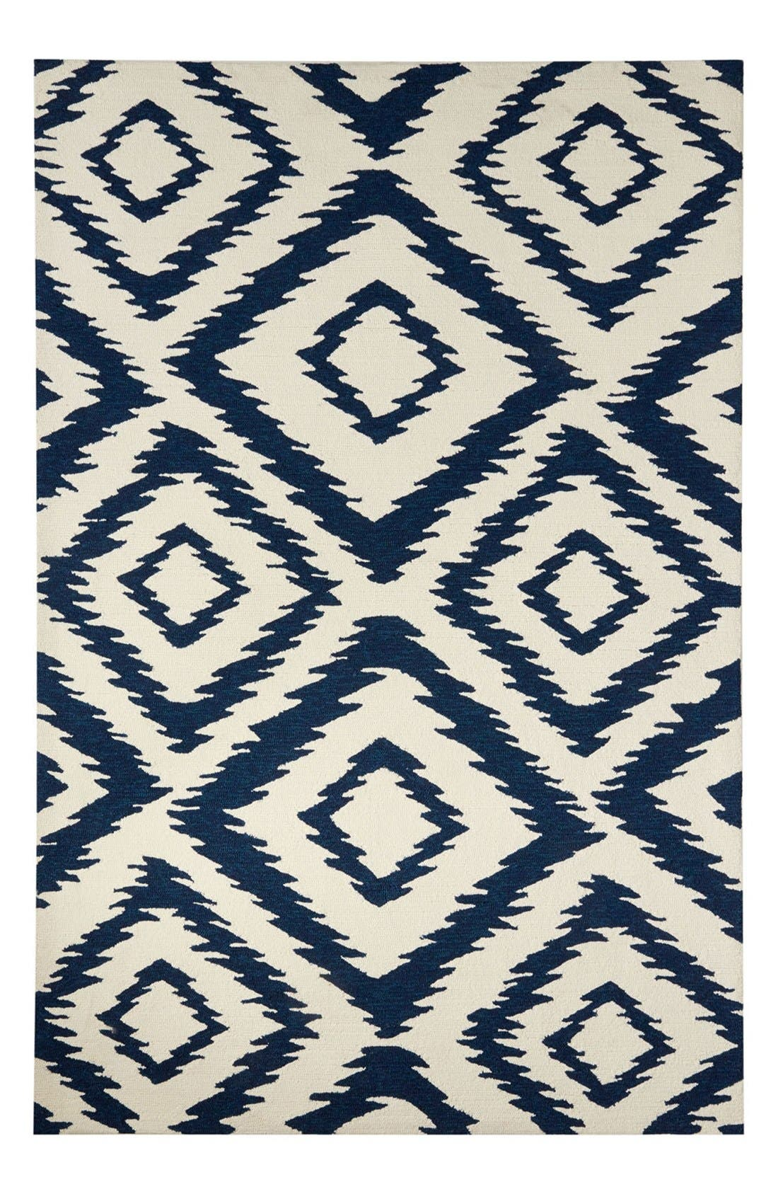 Alternate Image 1 Selected - Jaipur 'Catalina Diamond' Indoor/Outdoor Rug