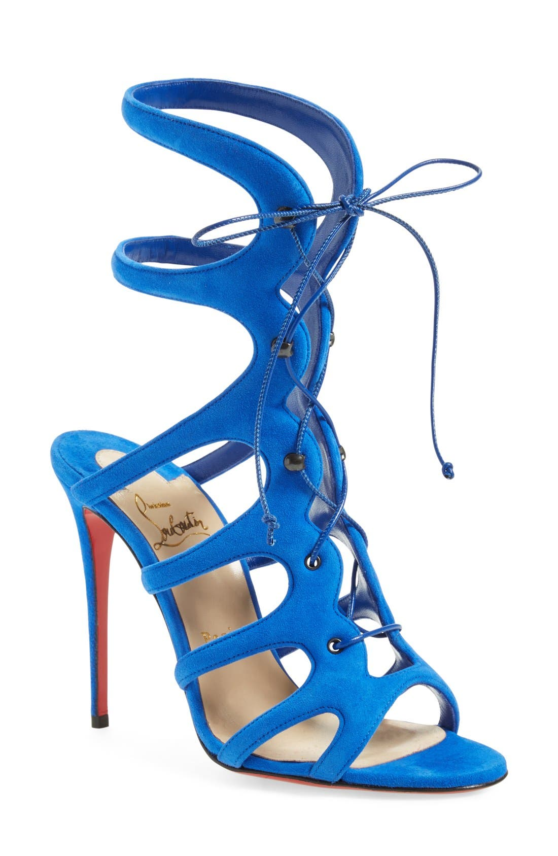 Alternate Image 1 Selected - Christian Louboutin 'Amazoulo' Gladiator Sandal