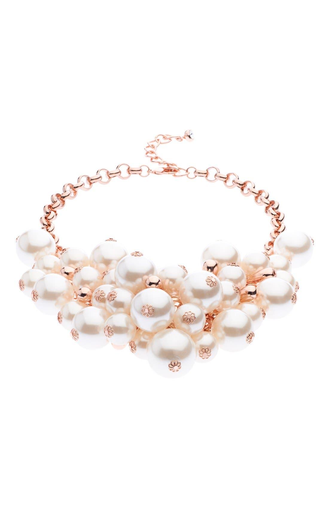 Alternate Image 3  - Ted Baker London Cluster Necklace