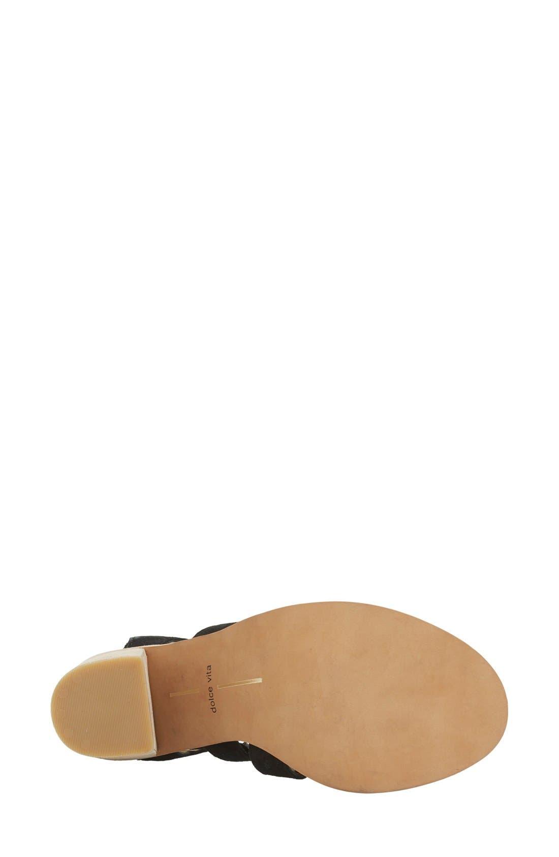 Alternate Image 4  - Dolce Vita 'Lyndon' Lace-Up Sandal (Women)