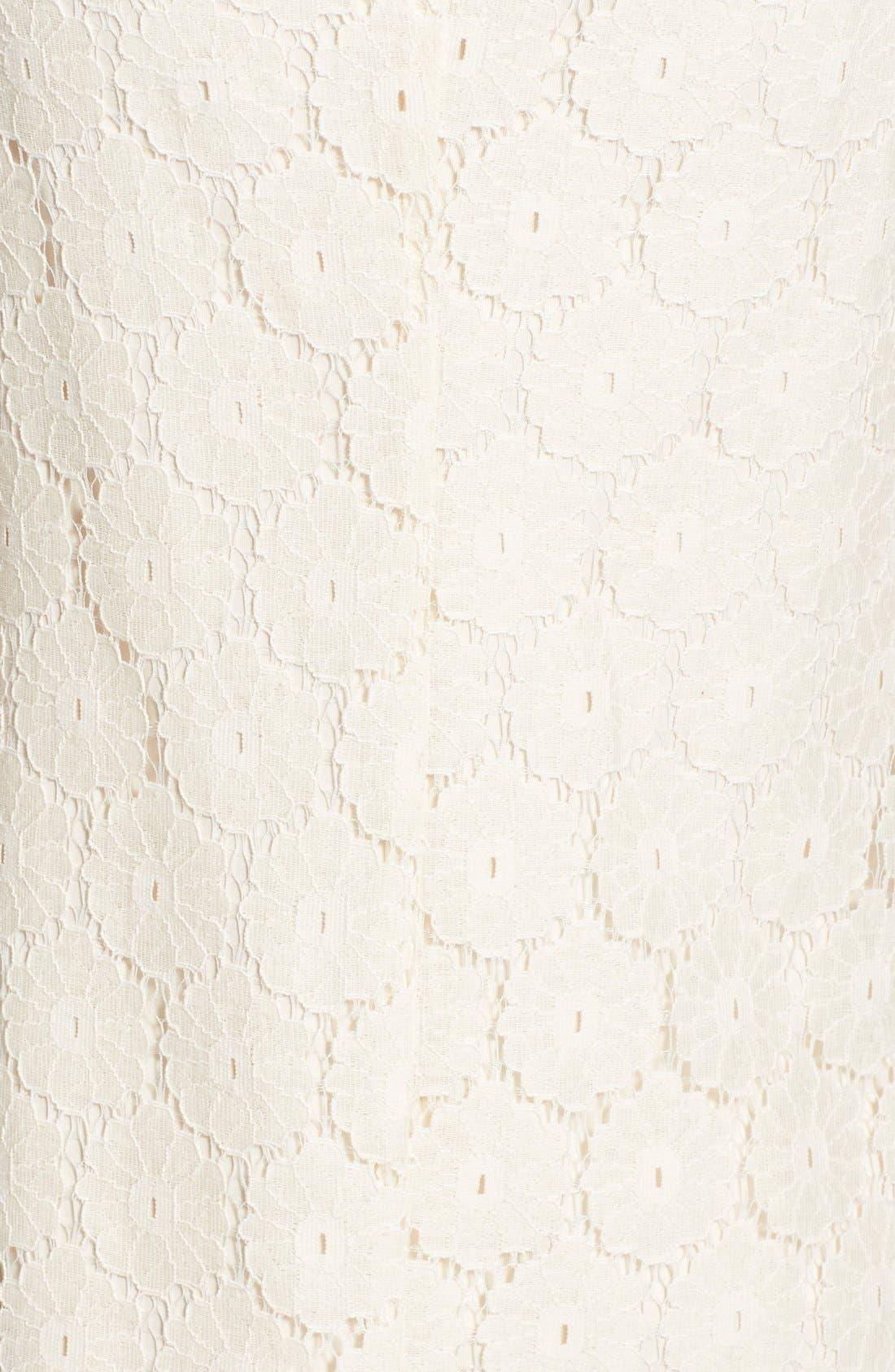 Alternate Image 5  - Speechless 'Daisy' Lace Sleeveless Shift Dress