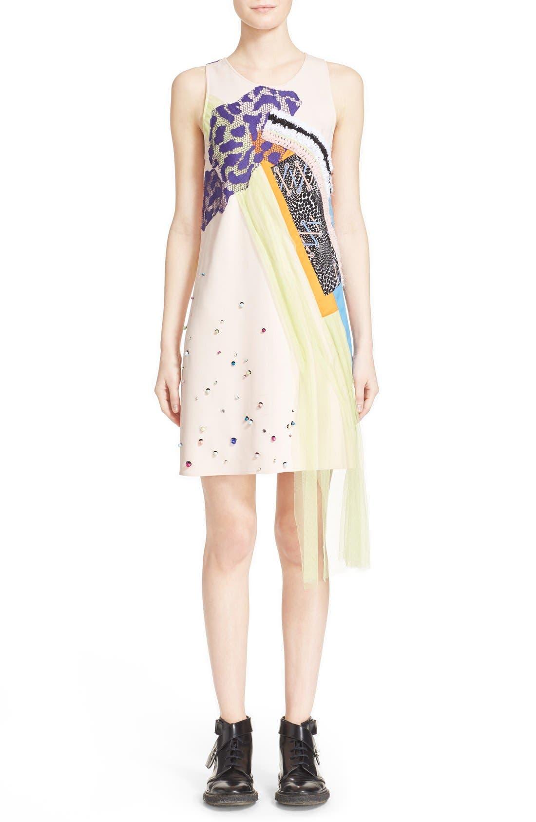 Alternate Image 1  - Koché 'Rose' Sleeveless Sheath Dress