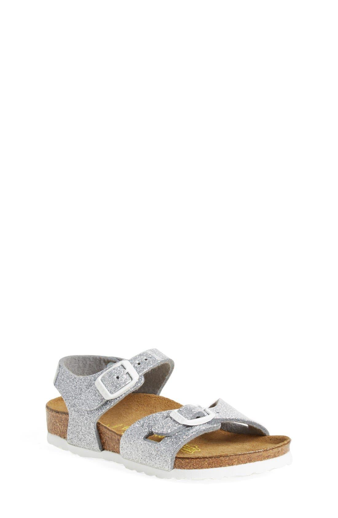 Birkenstock 'Rio' Sandal (Toddler)