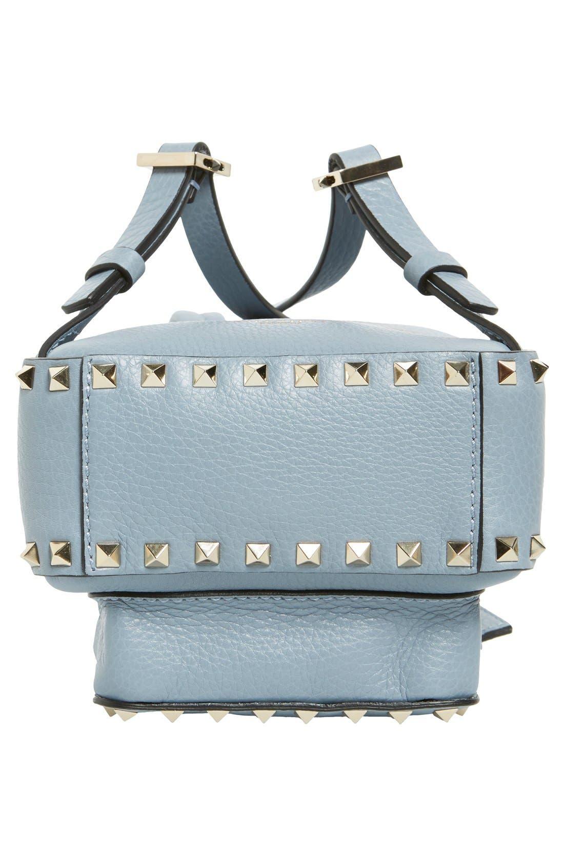 Alternate Image 6  - Valentino 'Small Rockstud' Leather Backpack