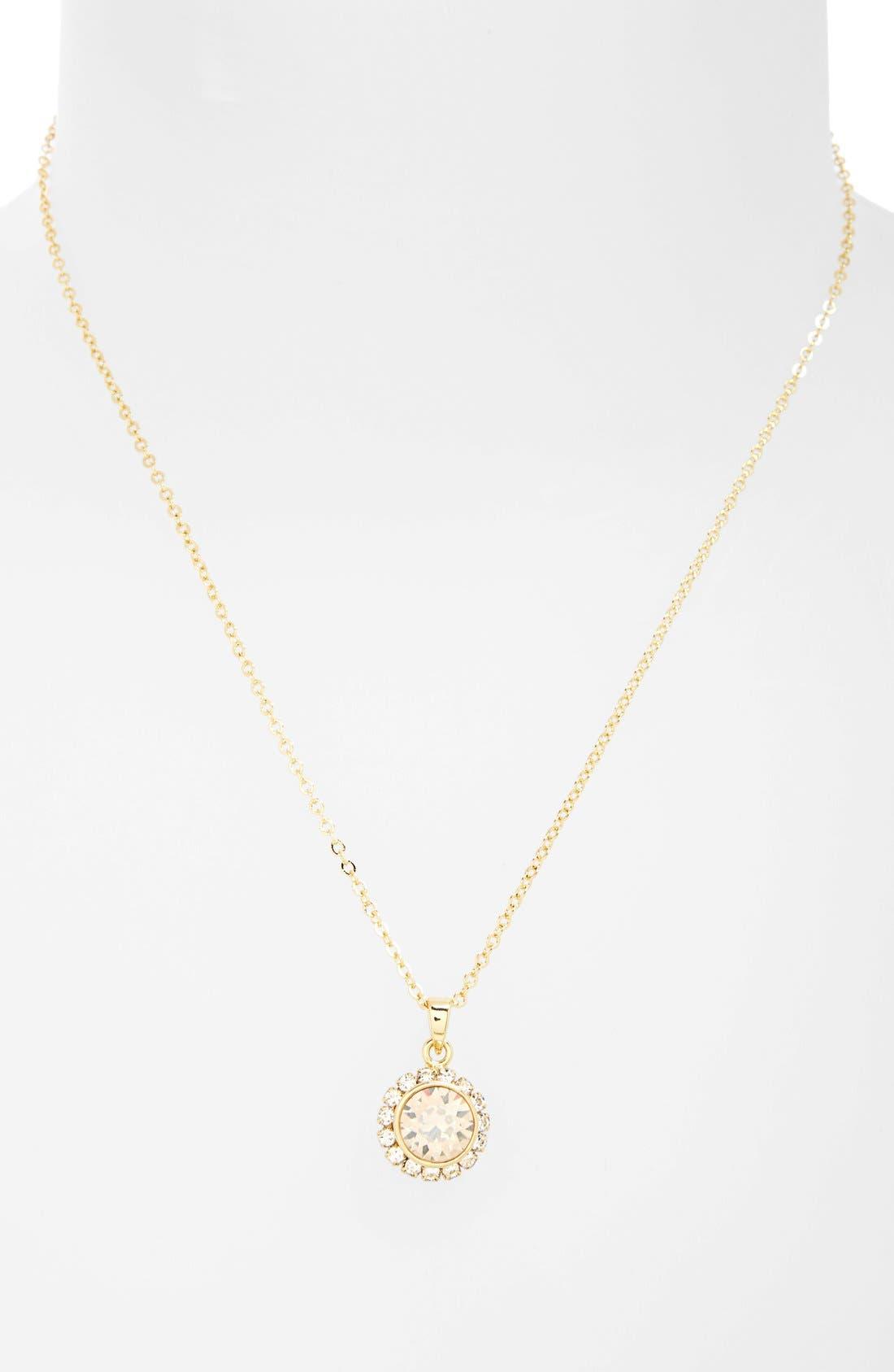 Alternate Image 2  - Ted Baker London Crystal Pendant Necklace