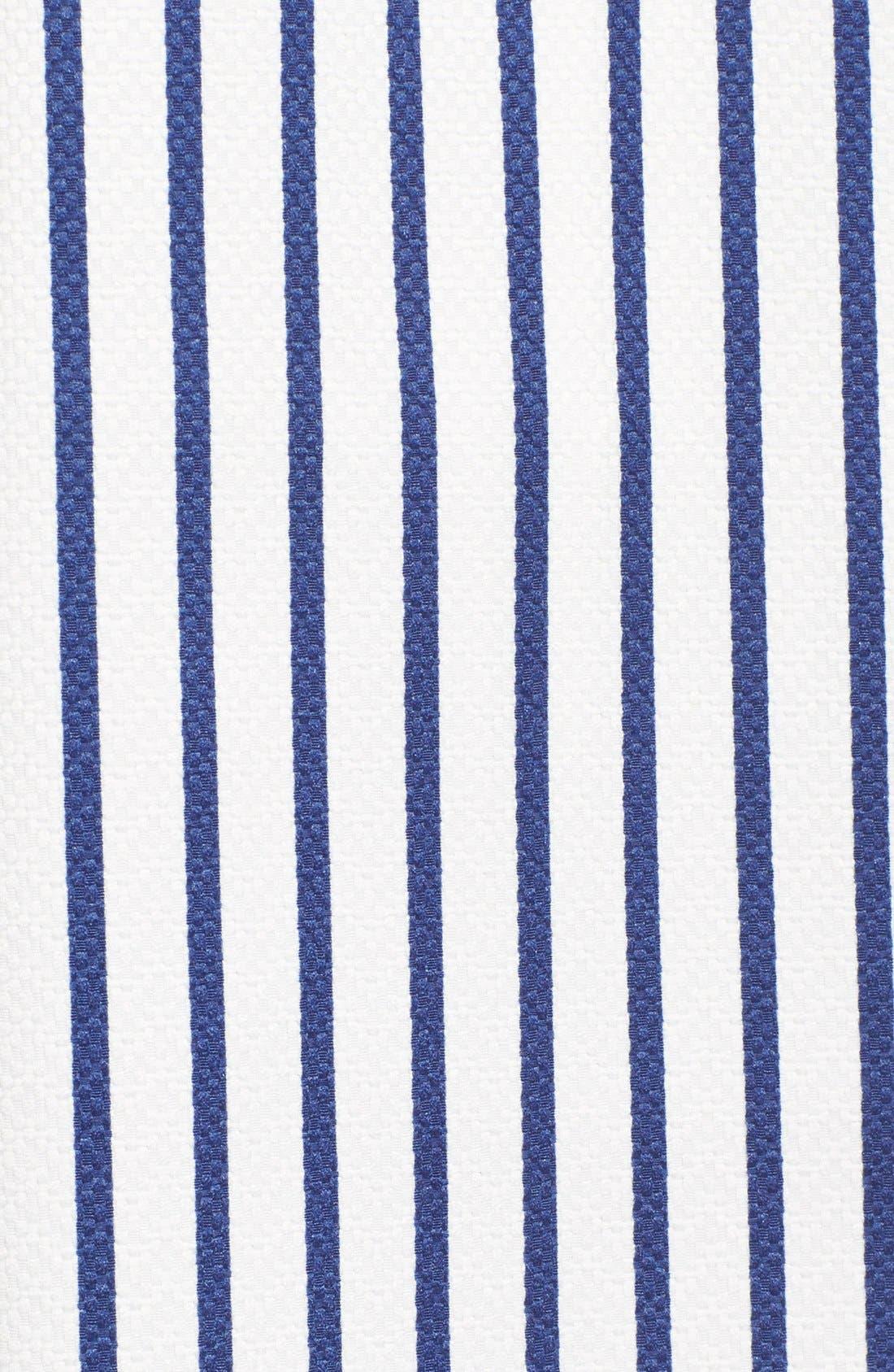 Alternate Image 6  - J.O.A. Cotton Poplin Stripe Midi Skirt
