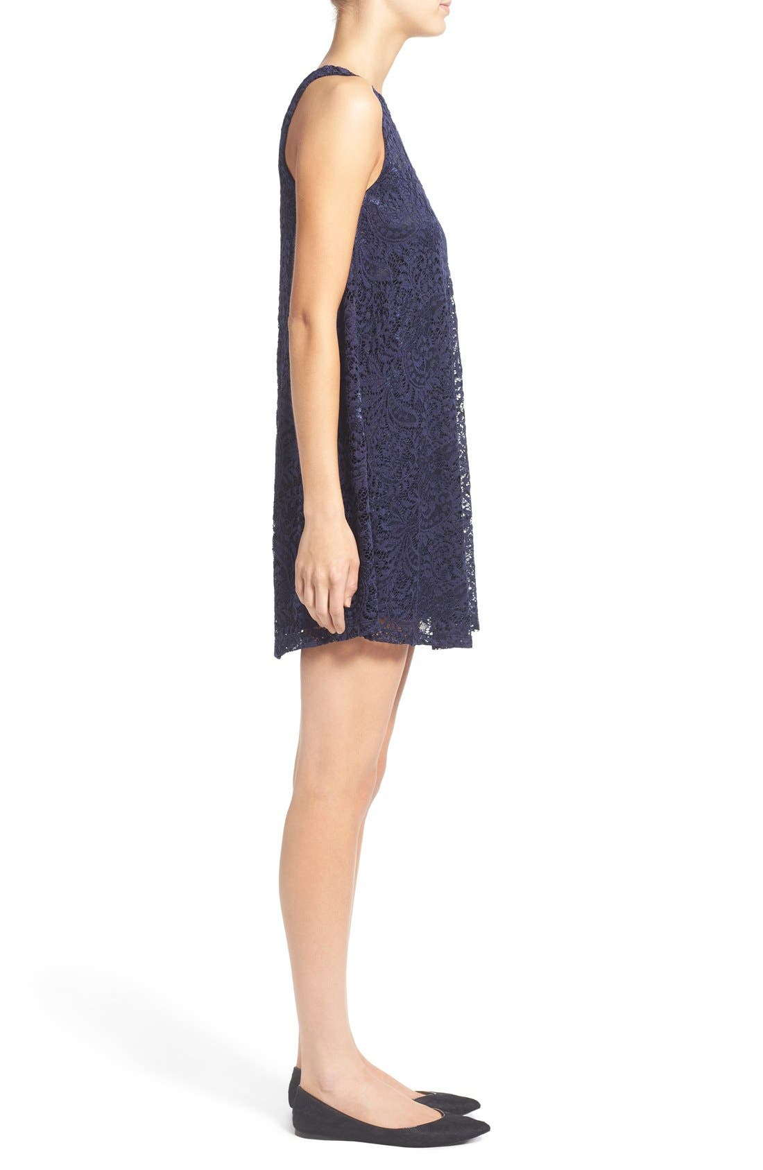 Alternate Image 3  - Everly Lace Shift Dress