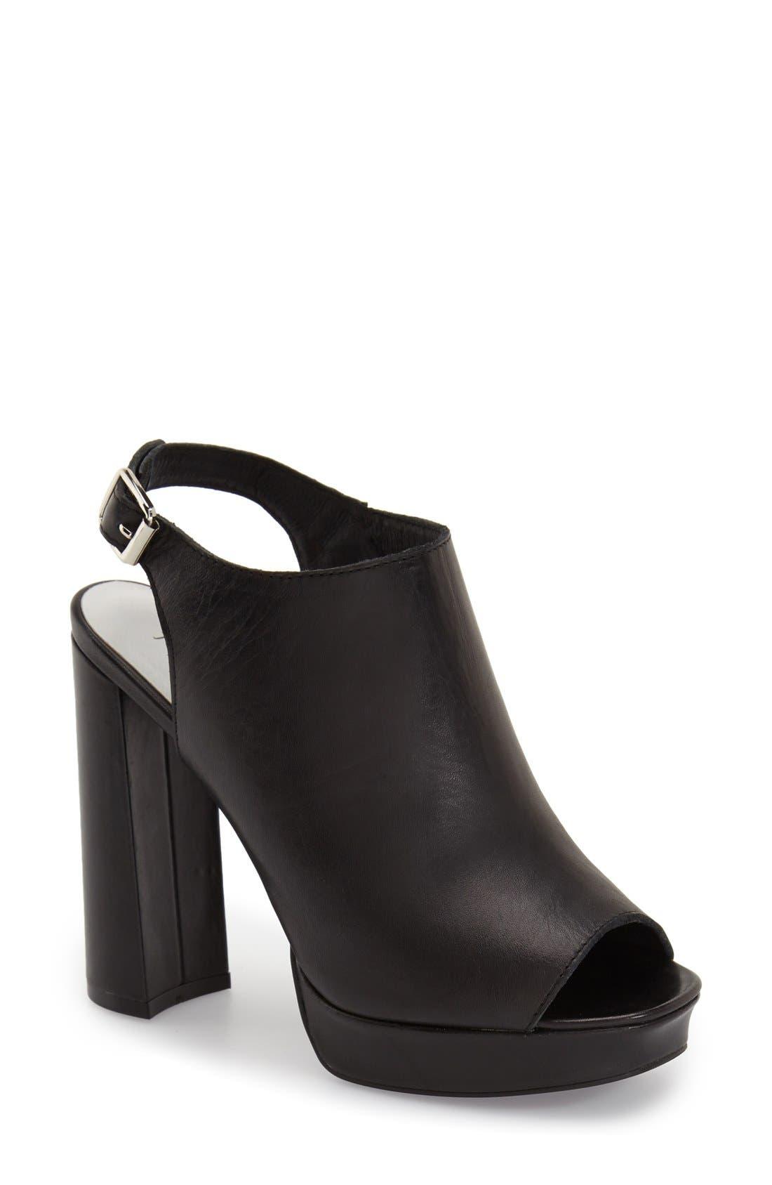 Alternate Image 1 Selected - Jeffrey Campbell 'Payola' Platform Sandal (Women)