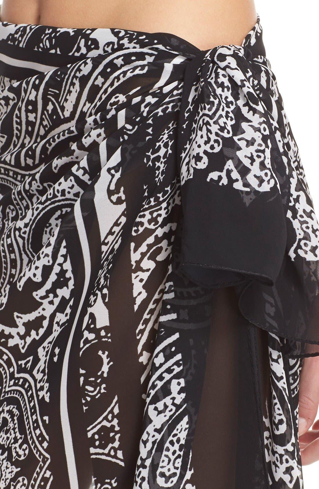 Alternate Image 4  - Profile by Gottex 'Madeira Pareo' Wrap Skirt