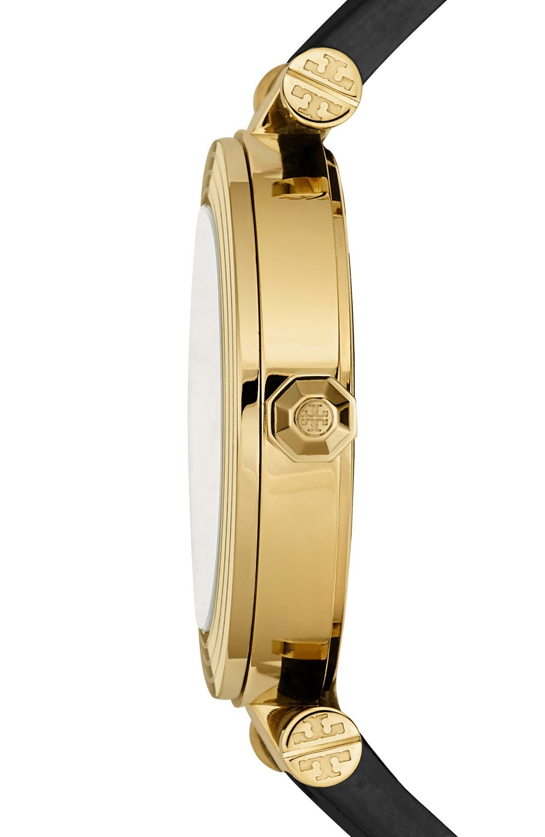 Alternate Image 2  - Tory Burch Leather Strap Watch, 35mm
