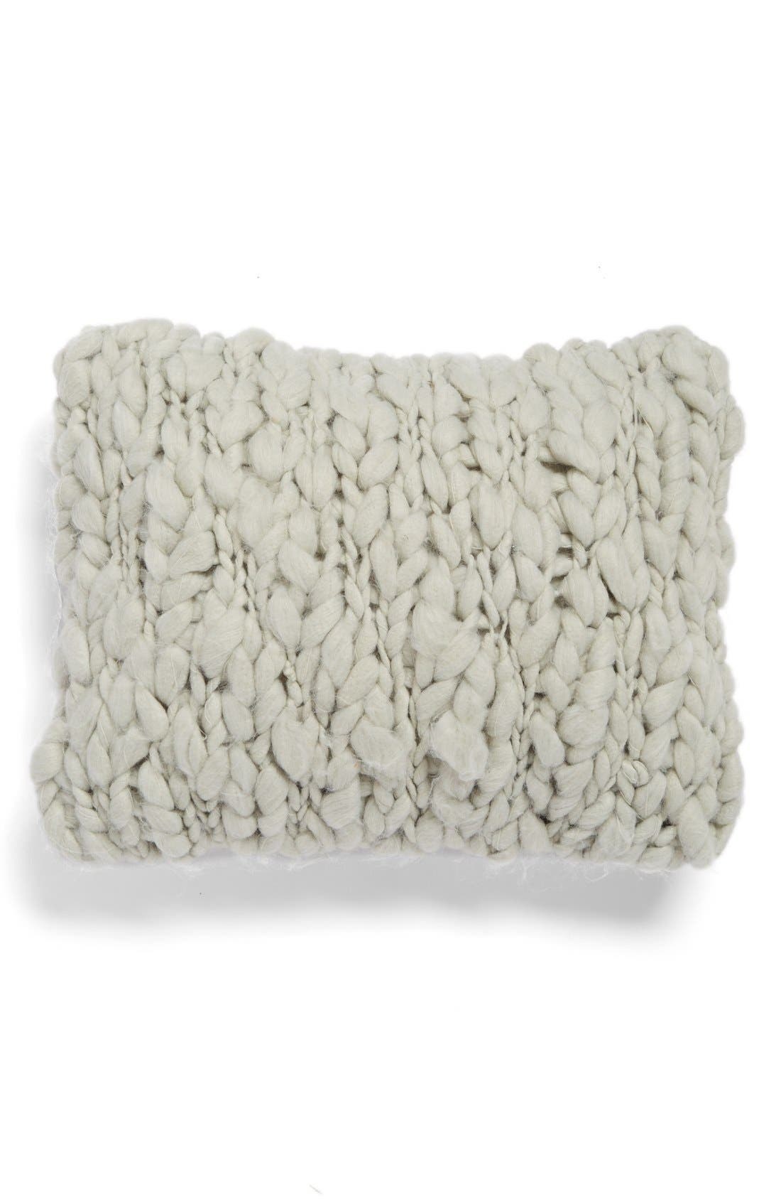 Alternate Image 1 Selected - Beekman 1802 'Minetto' Knit Pillow