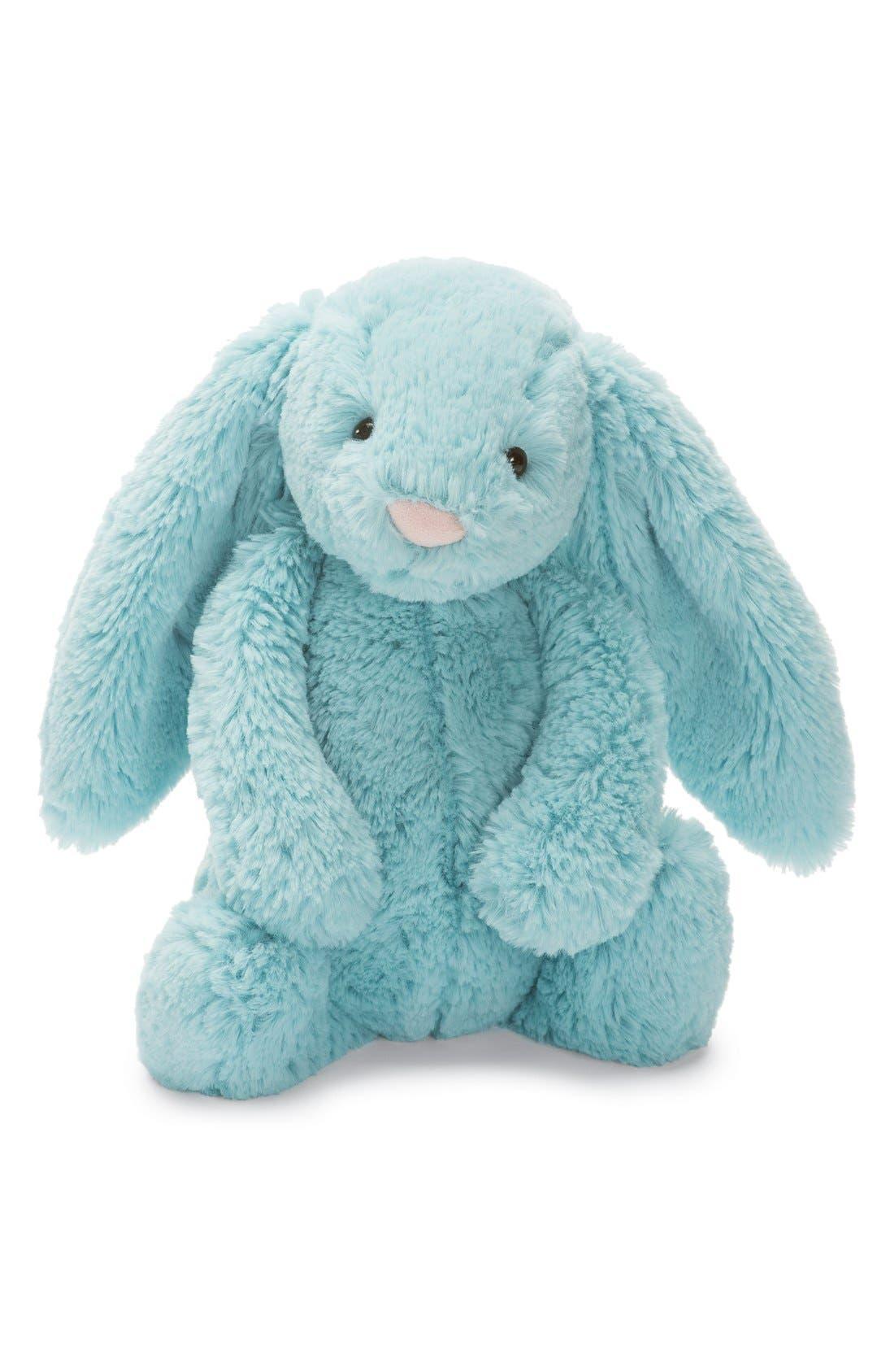 Jellycat 'Bashful Aqua Bunny' Stuffed Animal