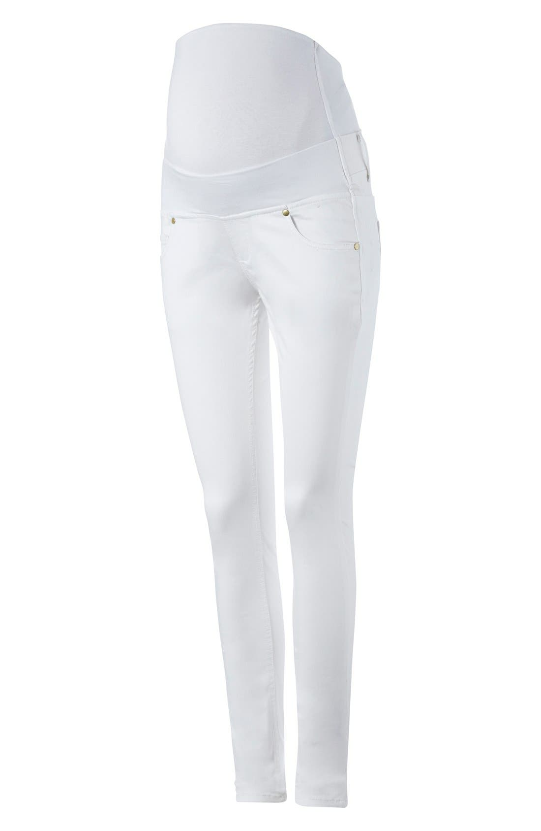 ISABELLA OLIVER 'Zadie' Stretch Maternity Skinny Jeans