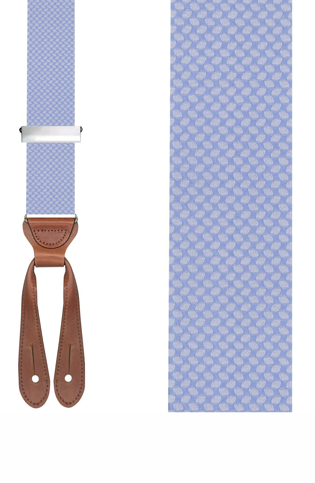 TRAFALGAR 'Hatfield' Silk Suspenders