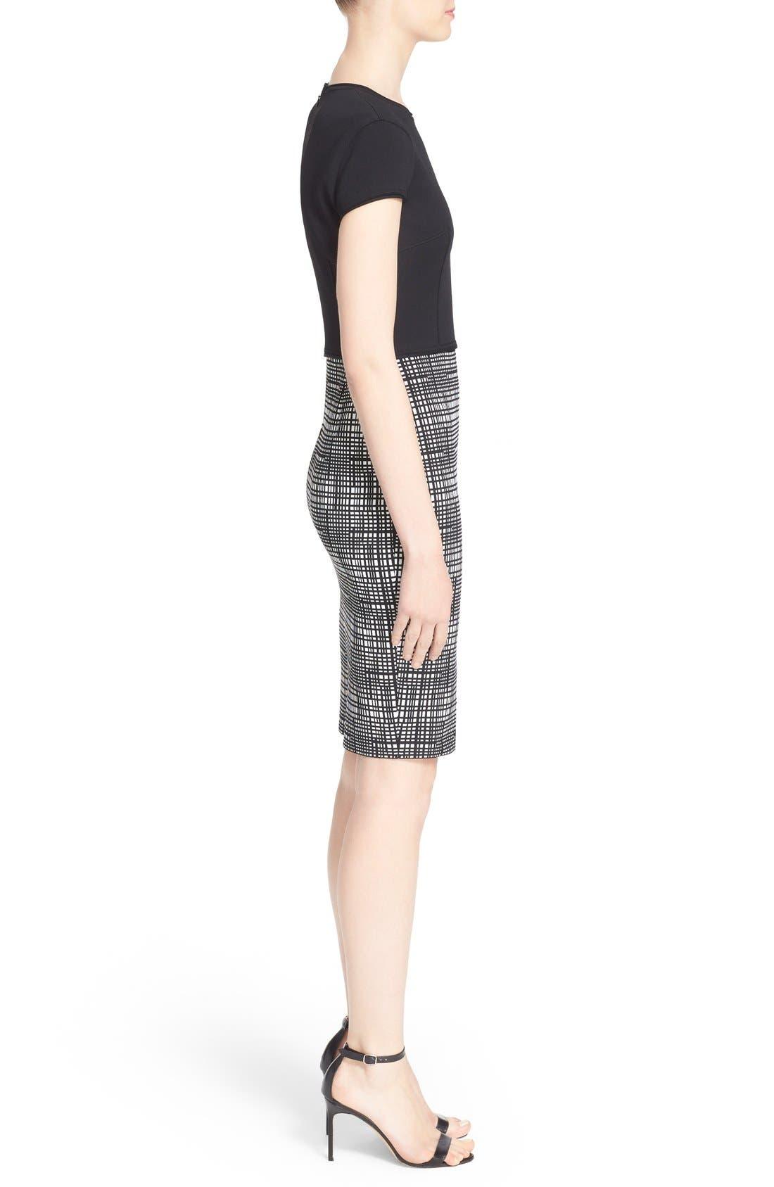 Alternate Image 5  - St. John Collection Luxe Sculpture Knit Cap Sleeve Dress