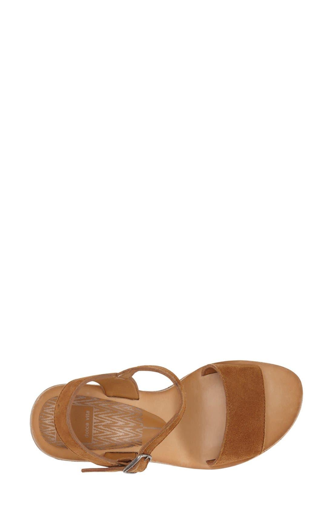 Alternate Image 3  - Dolce Vita 'Randi' Platform Sandal (Women)
