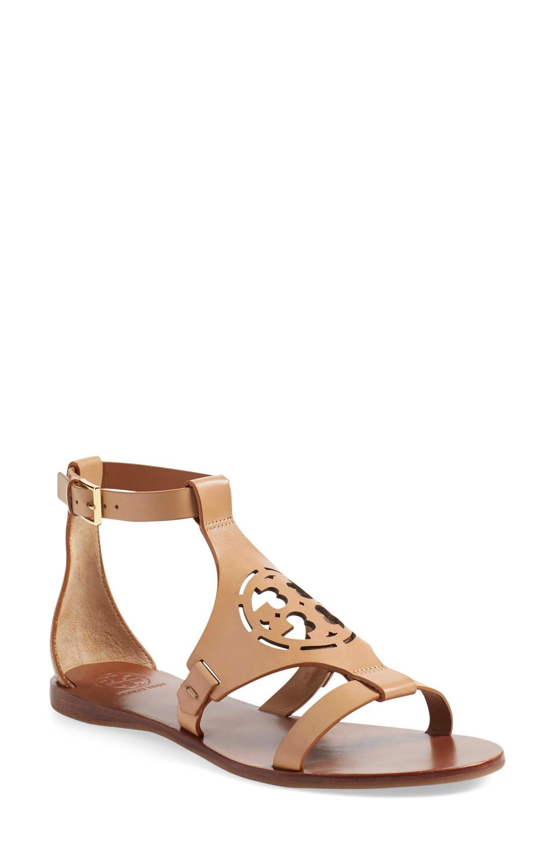 Alternate Image 1 Selected - Tory Burch 'Zoey' Sandal (Women)