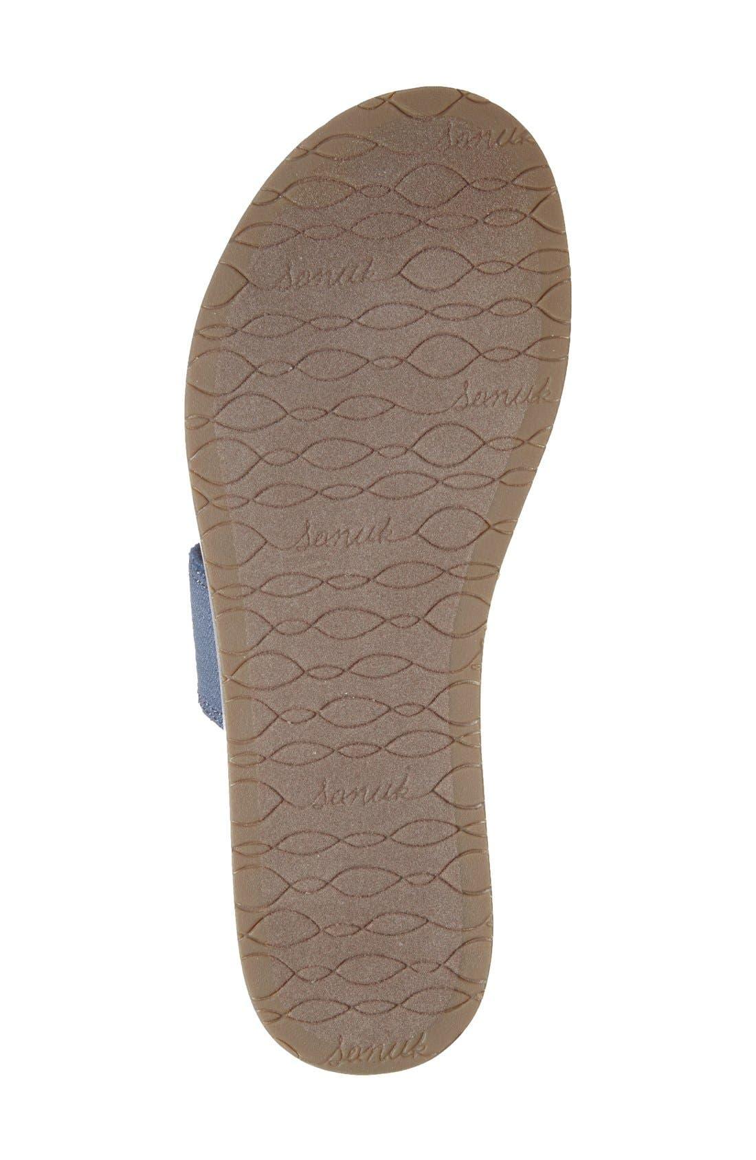 Alternate Image 4  - Sanuk 'Yoga Gora Gora' Slide Sandal (Women)