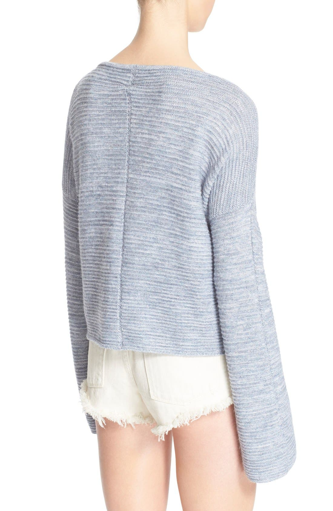 Alternate Image 2  - Free People 'Ever Cozy' Alpaca & Cotton Pullover