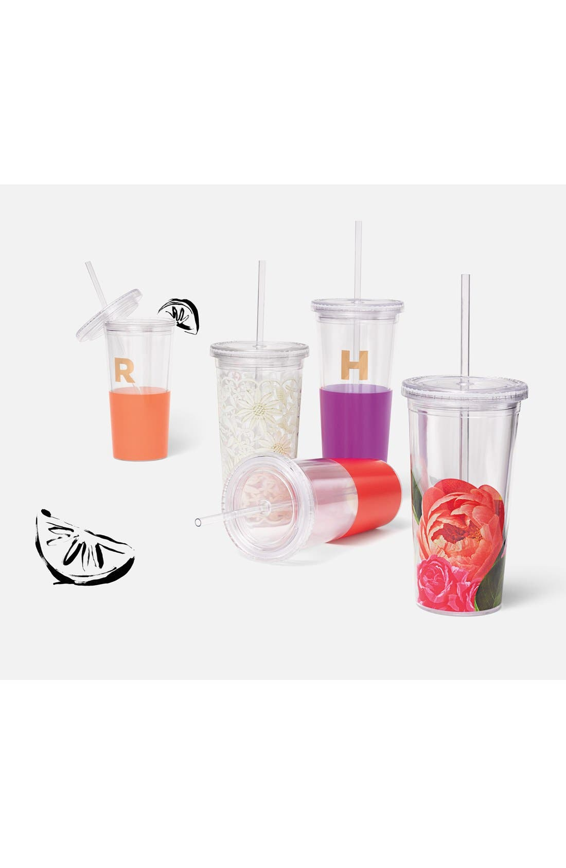 Alternate Image 2  - kate spade new york 'dipped' insulated tumbler