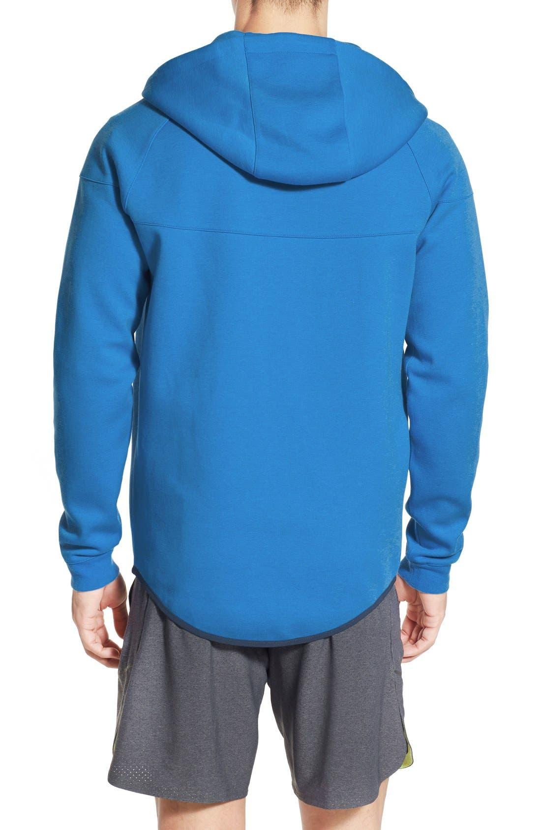 Alternate Image 2  - Nike Water Repellent Tech Fleece Windrunner Jacket