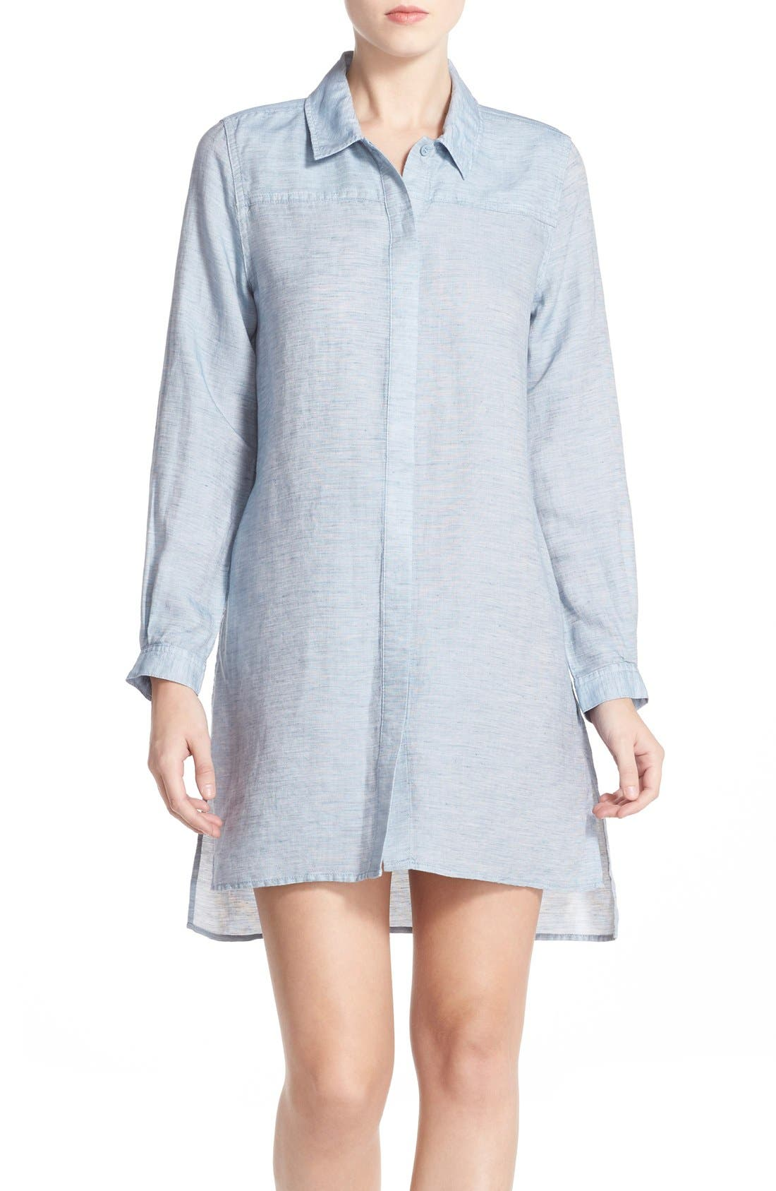 Alternate Image 1 Selected - French Connection Chambray Shirtdress