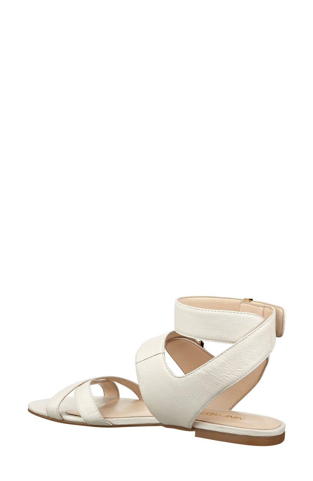 Alternate Image 2  - Nine West 'Darcelle' Flat Sandal (Women)
