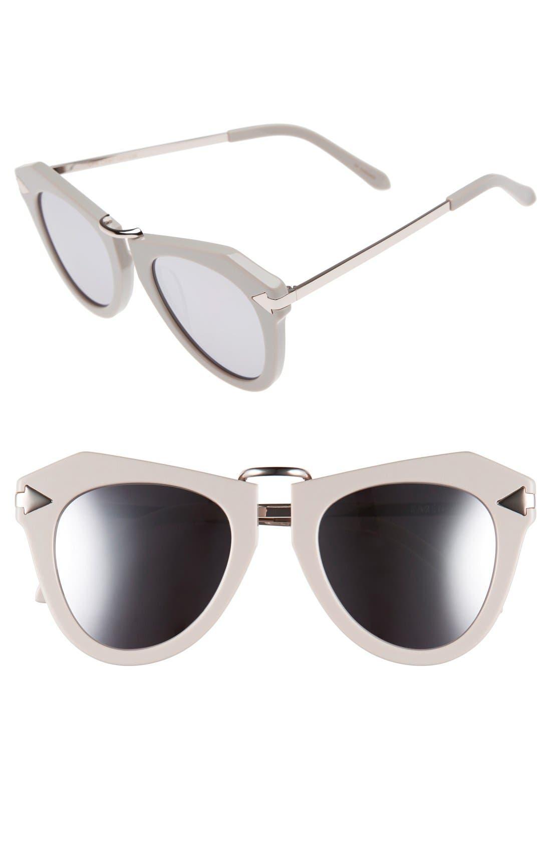 Alternate Image 1 Selected - Karen Walker 'One Orbit - Arrowed by Karen' 51mm Sunglasses