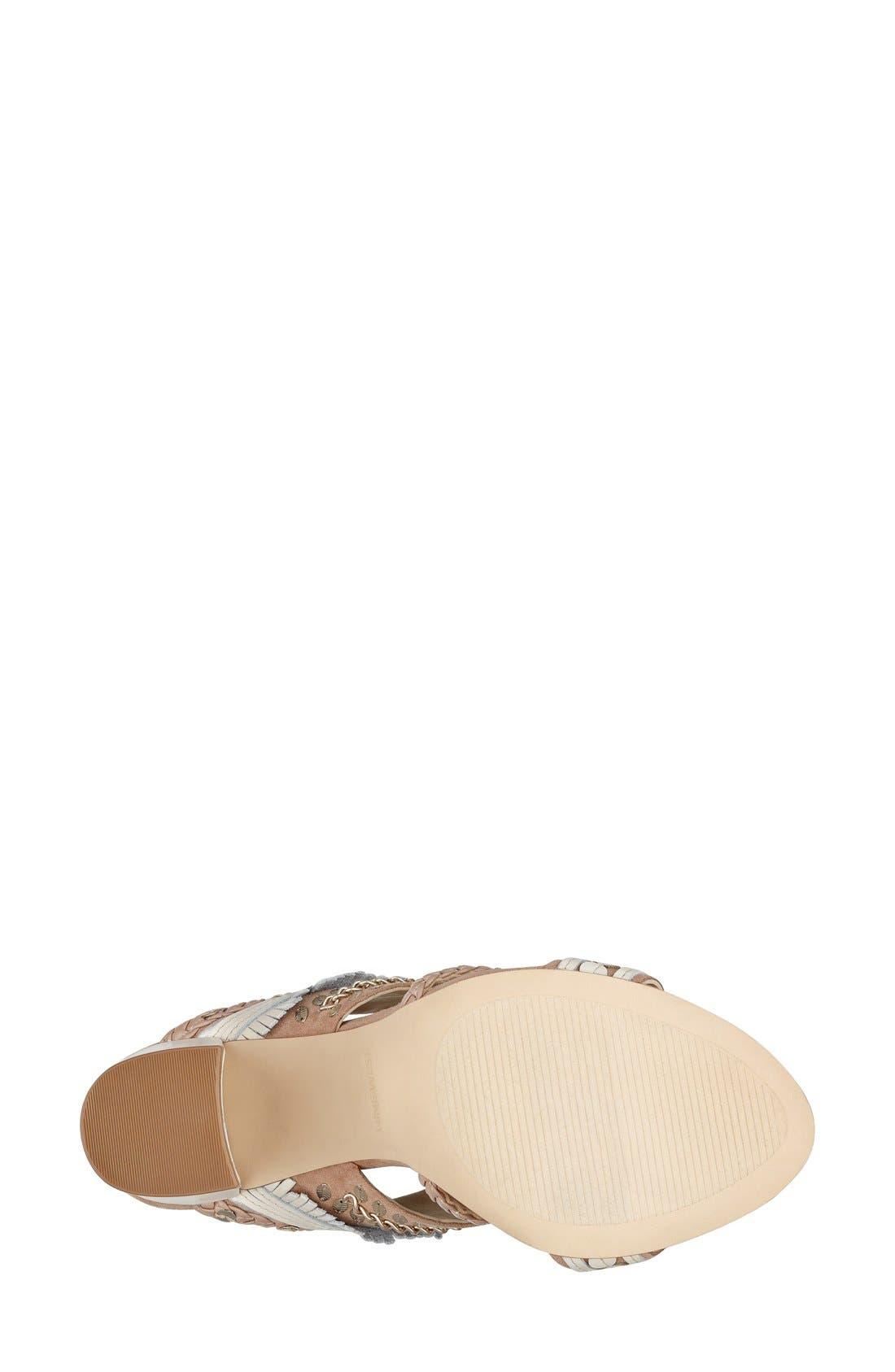 Alternate Image 4  - Nine West 'Baebee' Block Heel Sandal (Women)