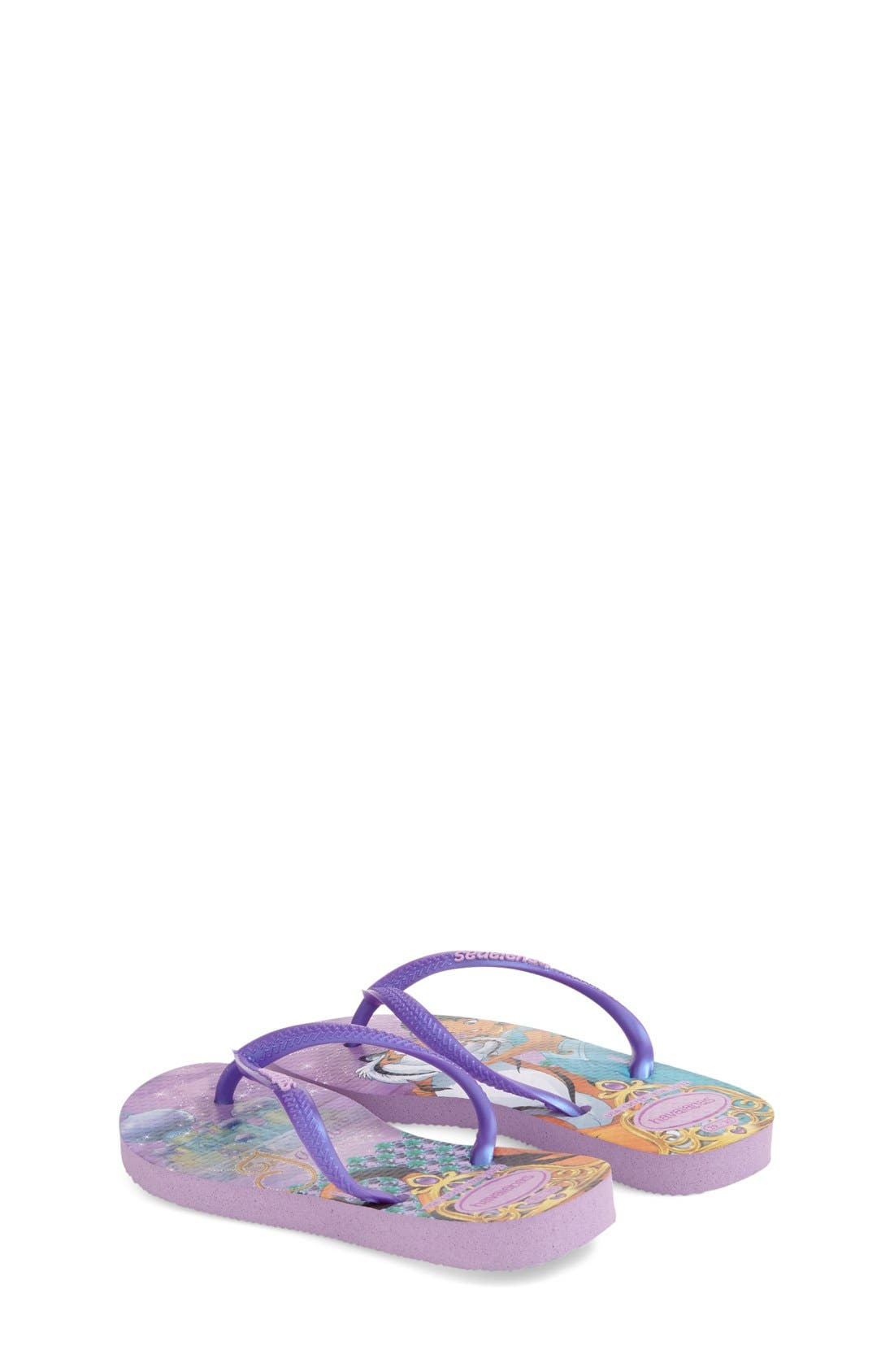 Alternate Image 2  - Havaianas 'Disney Princess' Flip Flops (Toddler & Little Kid)