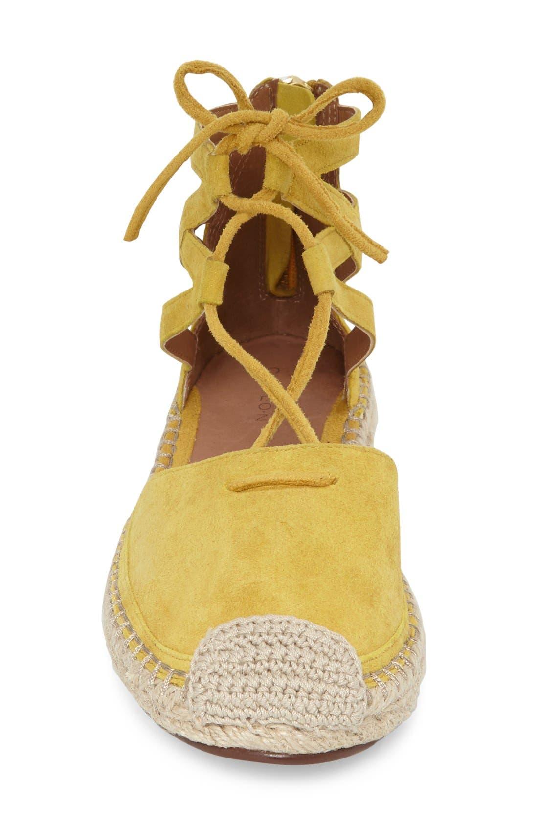 Alternate Image 3  - Caslon® Lace-Up Espadrille Flat (Women)