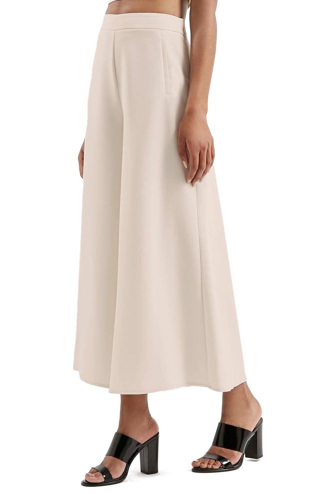 Alternate Image 1 Selected - Topshop Palazzo Trousers