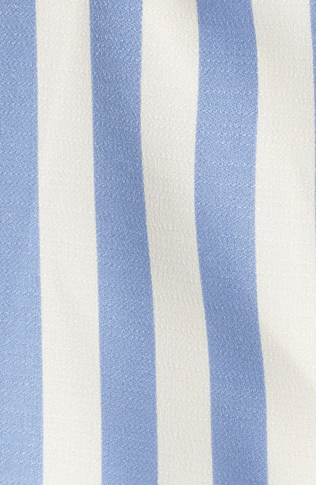 Alternate Image 5  - Lovers + Friends 'Honor' Stripe Fit & Flare Dress