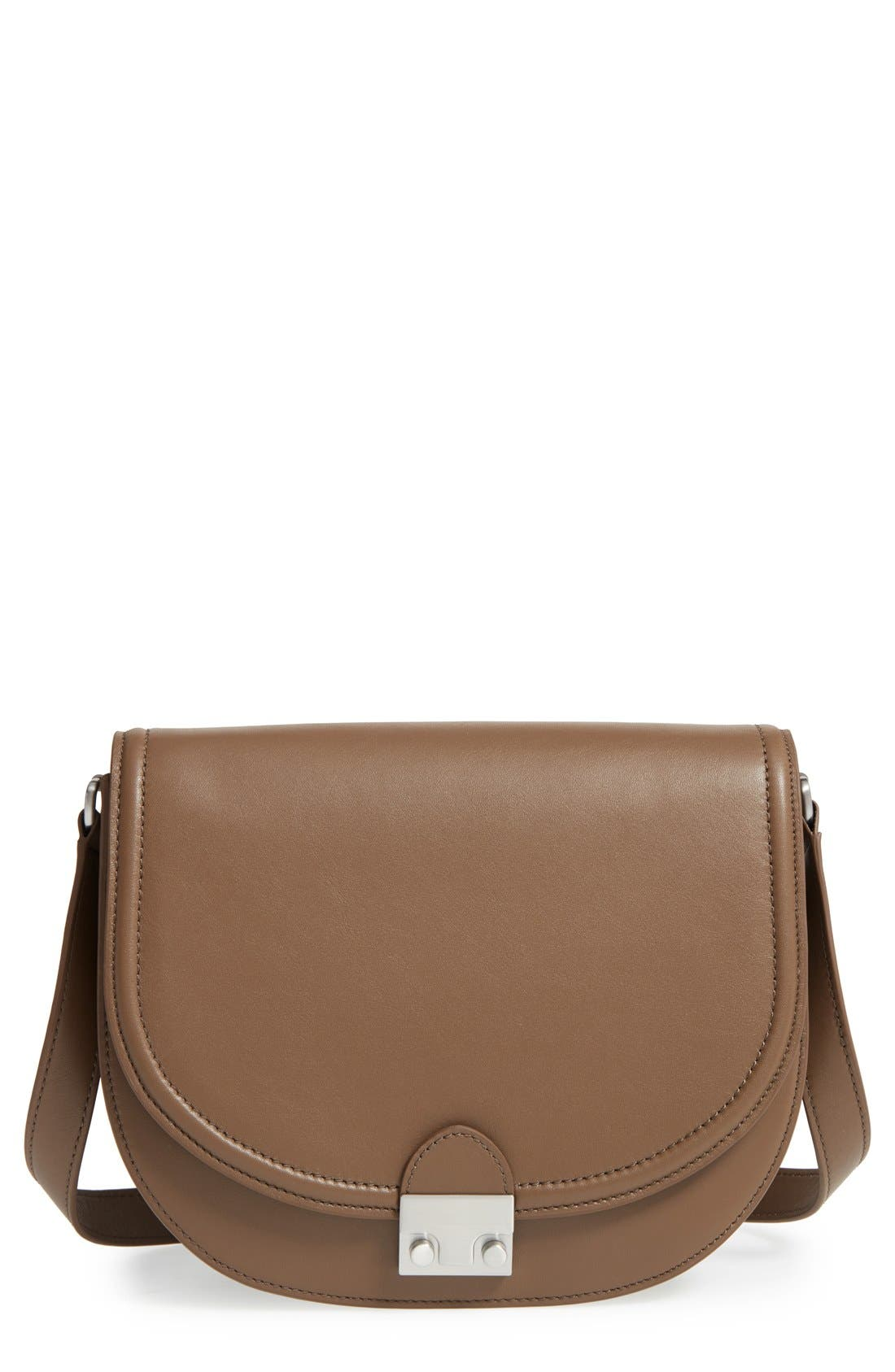 Main Image - Loeffler Randall 'Large' Leather Saddle Bag