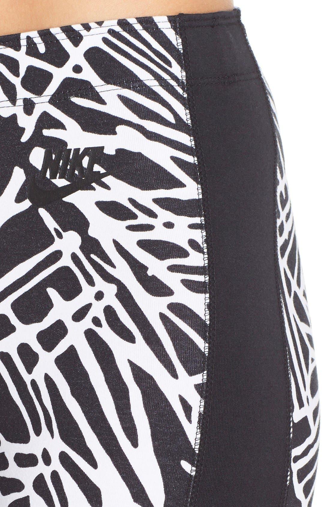 Alternate Image 4  - Nike 'Leg-A-See AOP' Print Leggings