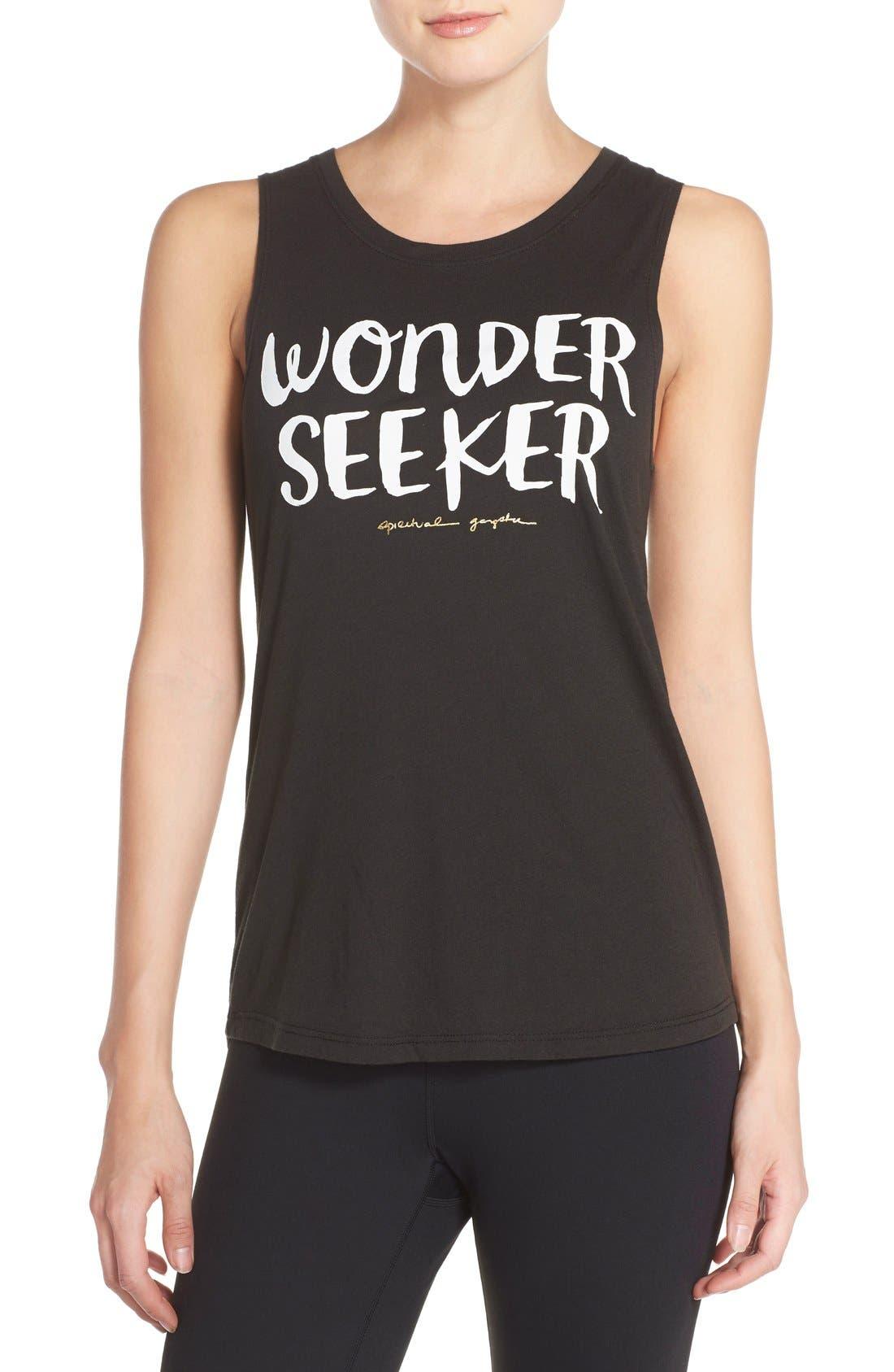 Main Image - Spiritual Gangster 'Wonderseeker' Muscle Tee