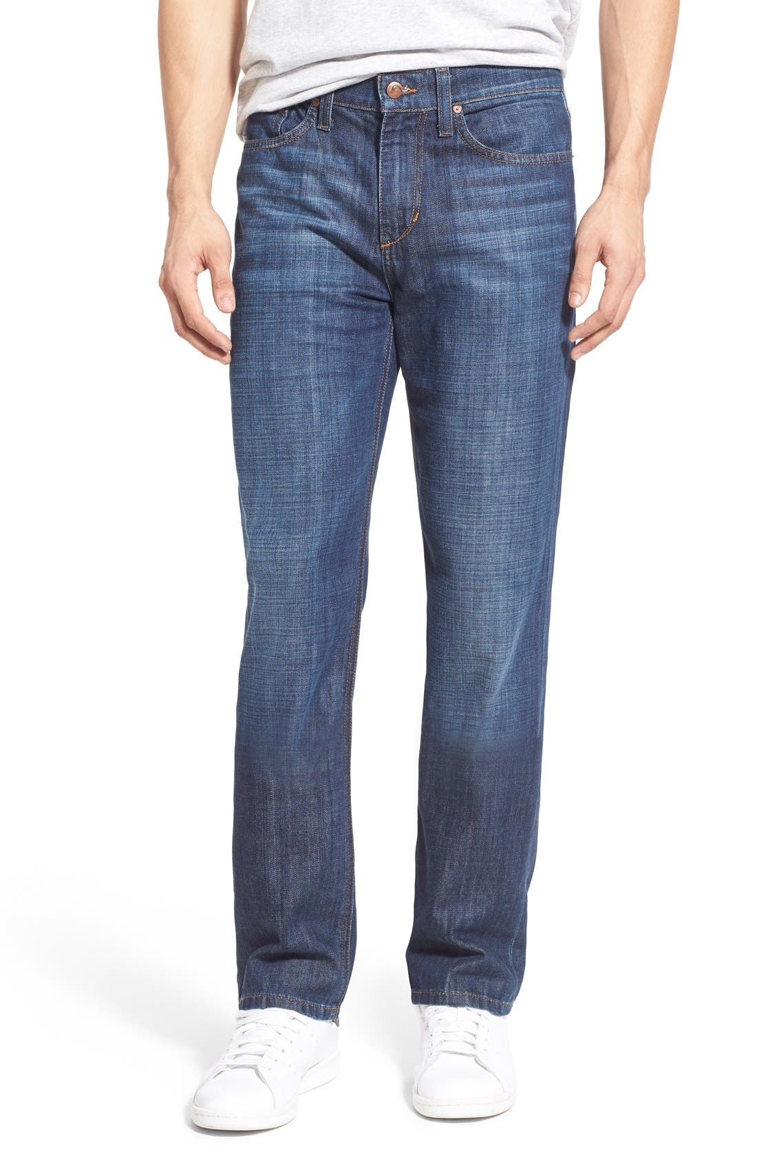 Alternate Image 1 Selected - Joe's Classic Straight Leg Jeans (Martin)