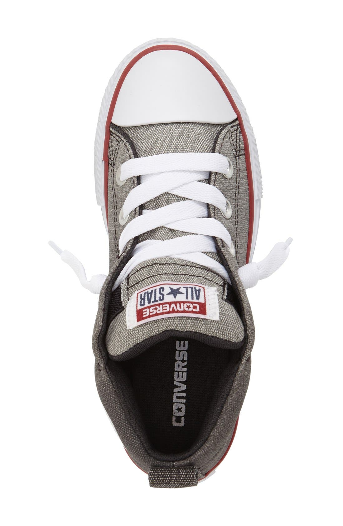 Alternate Image 3  - Converse Chuck Taylor® All Star® 'CTAS Street' Mid Sneaker (Baby, Walker, Toddler Little Kid & Big Kid)
