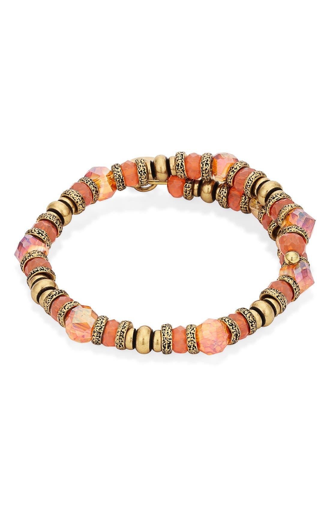 Alternate Image 3  - Alex and Ani 'Sunset Nature's Brilliance' Beaded Wrap Bracelet
